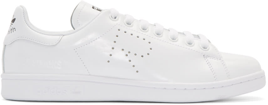 Raf-Simons-White-Adidas-Edition-Stan-Smith-Sneakers