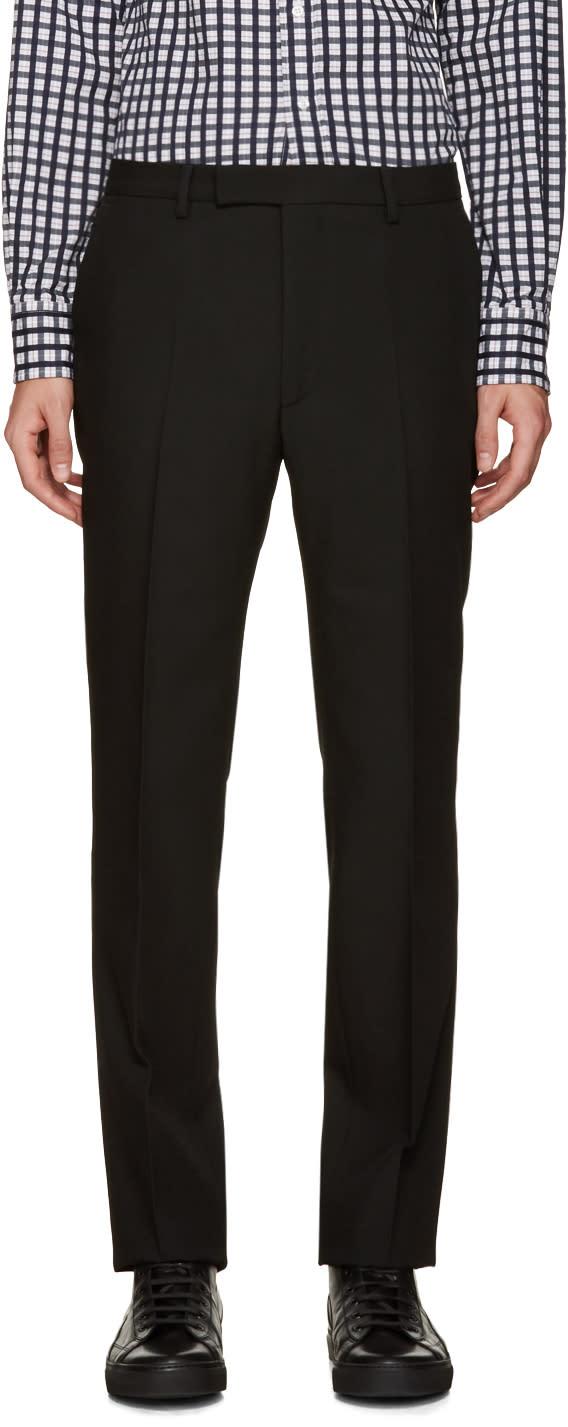 Raf Simons Black Wool Trousers