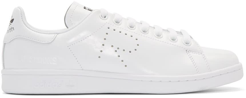 Raf Simons White Adidas Edition Stan Smith Sneakers