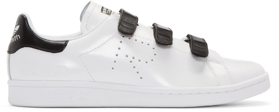 Raf Simons White Adidas Edition Stan Smith Comfort Sneakers