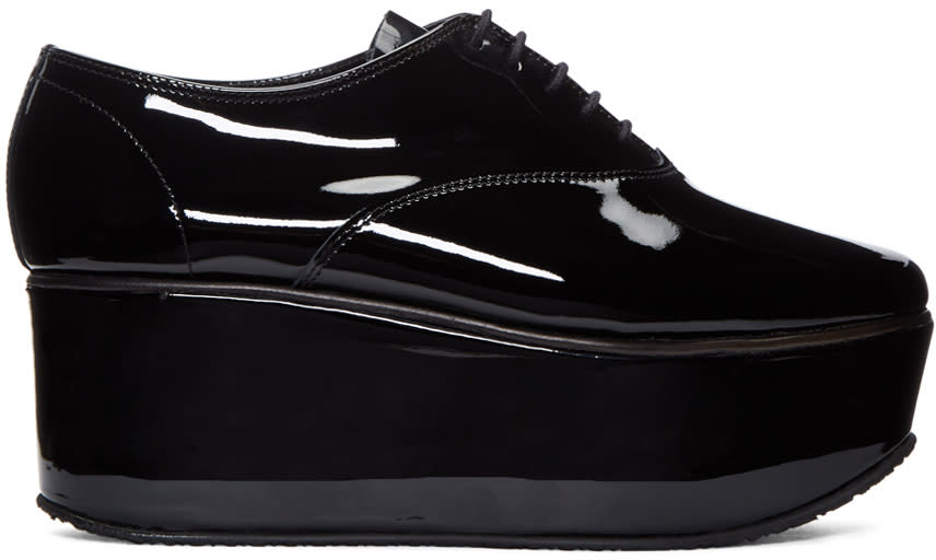 Repetto Black Patent Leather Donie Oxfords
