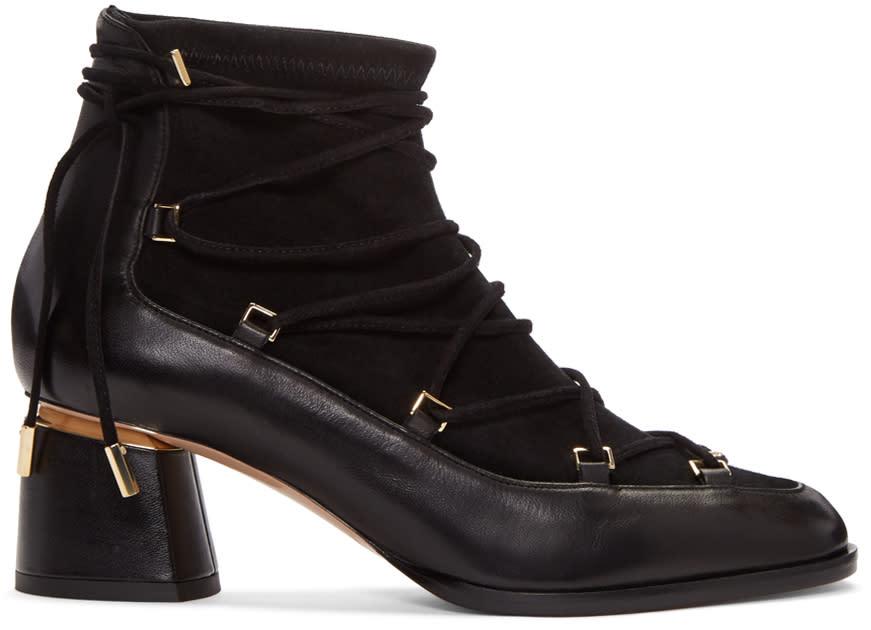 Nicholas Kirkwood Black Outliner Boots
