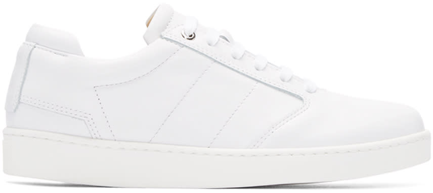 Want Les Essentiels White Lennon Sneakers