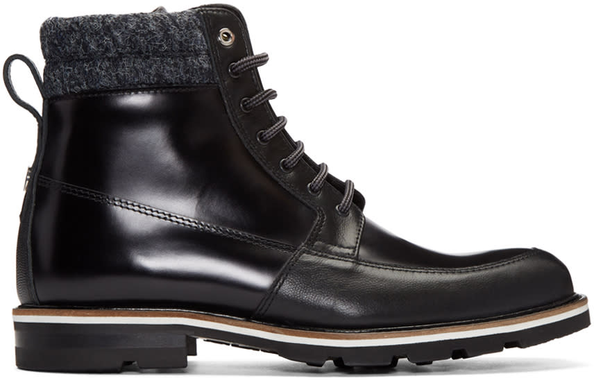 Want Les Essentiels Black Kloten Boots