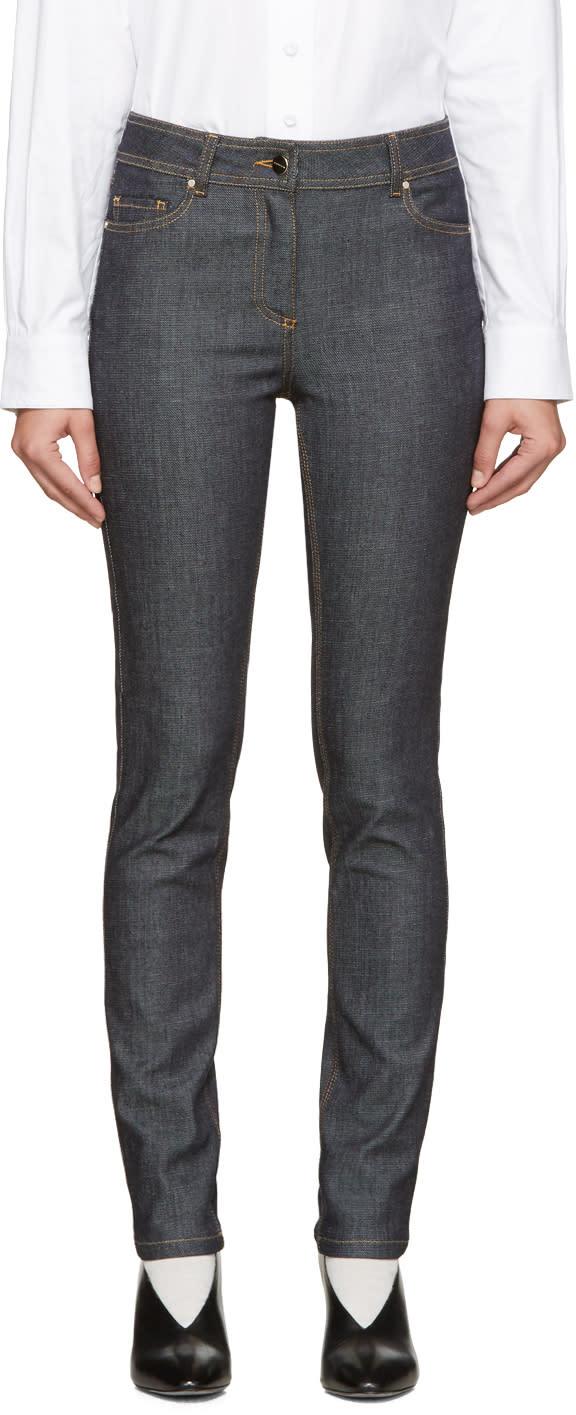 Carven Indigo Skinny Jeans