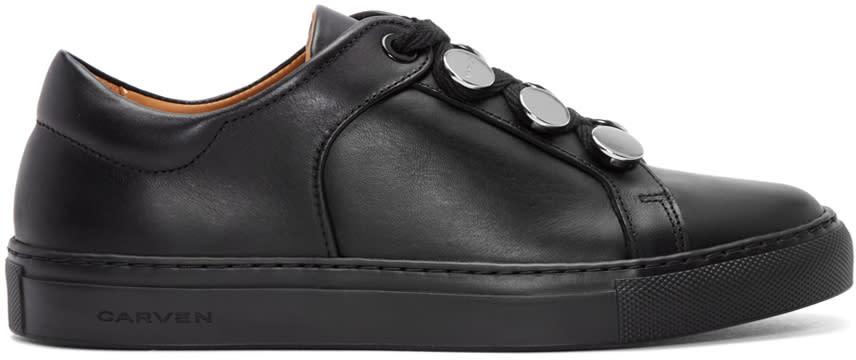 Carven Black Resonance Sneakers