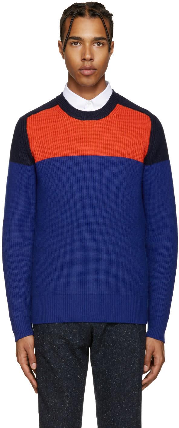 Carven Multicolor Colorblock Sweater