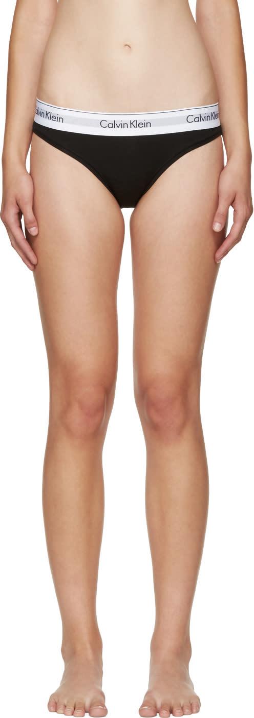 Calvin Klein Underwear Black Modern Briefs