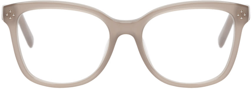 Chloé Taupe Square Optical Glasses