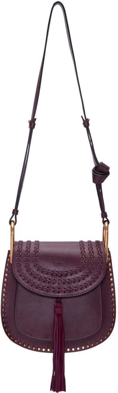 Chloe Purple Small Hudson Bag