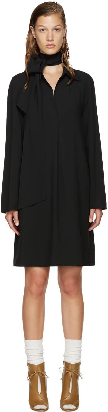 Chloe Black V-neck Dress