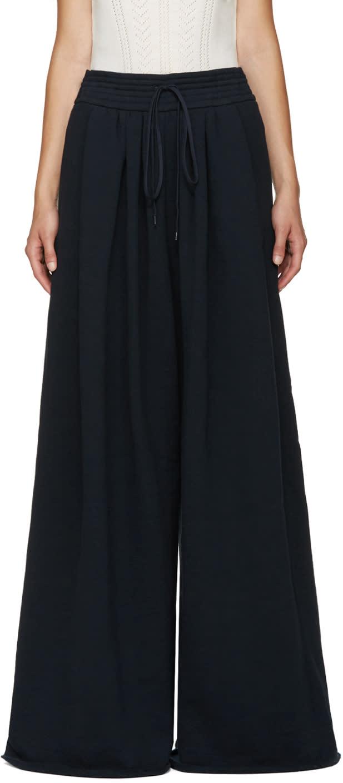 Chloe Navy Wide Lounge Pants