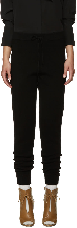 Chloe Black Cashmere Lounge Pants