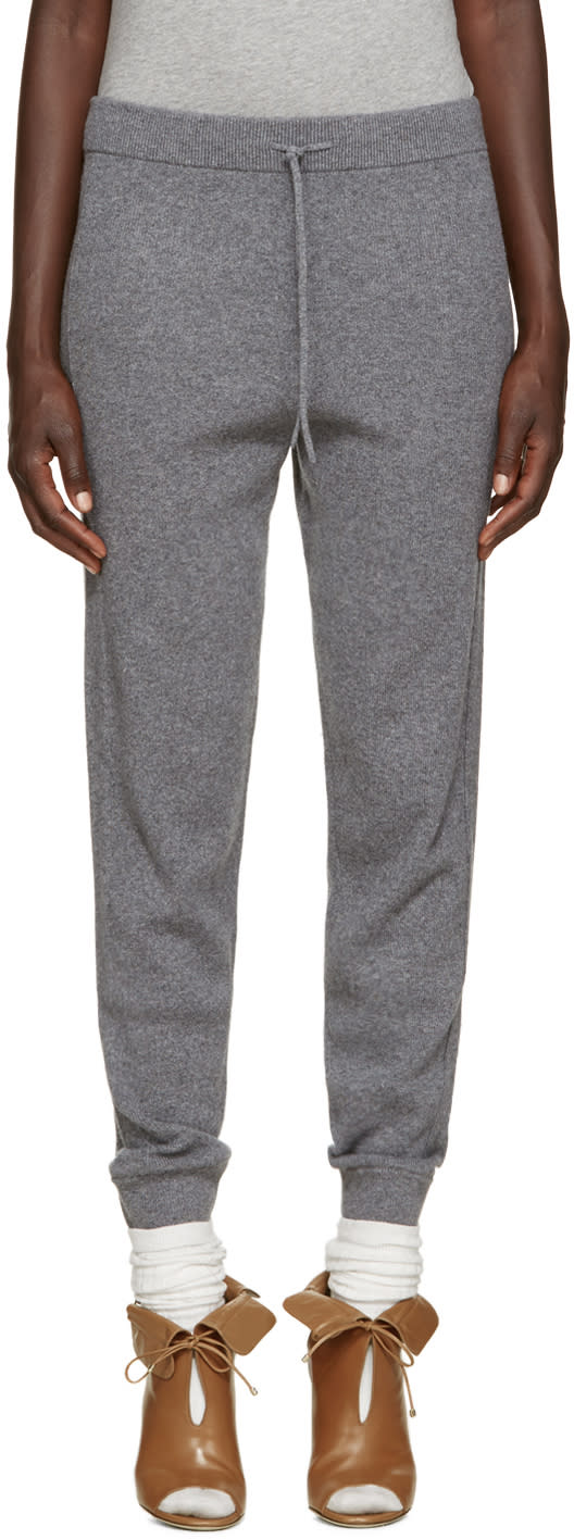 Chloe Grey Cashmere Lounge Pants