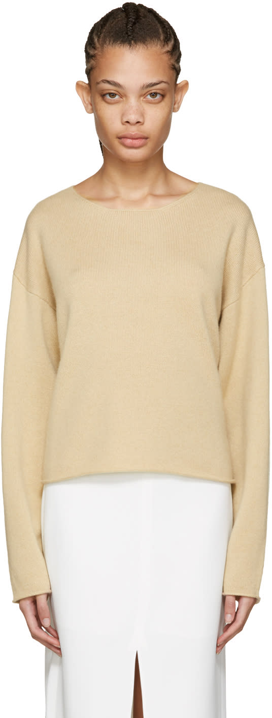 Chloe Brown Cashmere Sweater