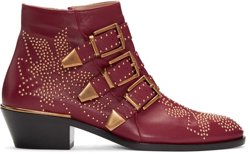 Chloe Red Susanna Boots