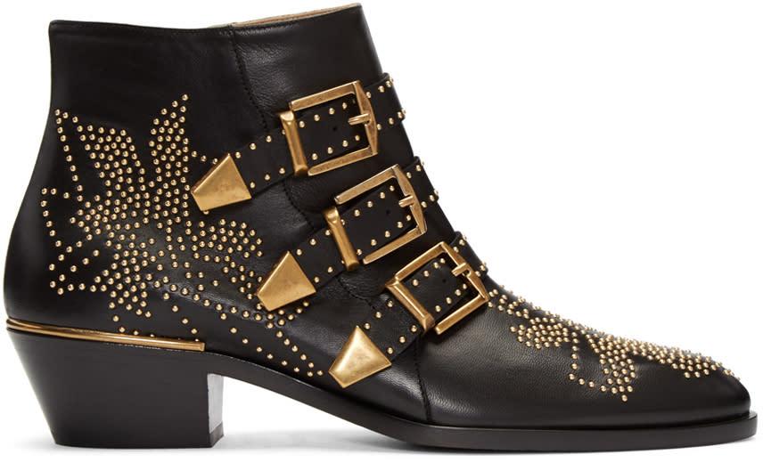 Chloe Black Susanna Boots
