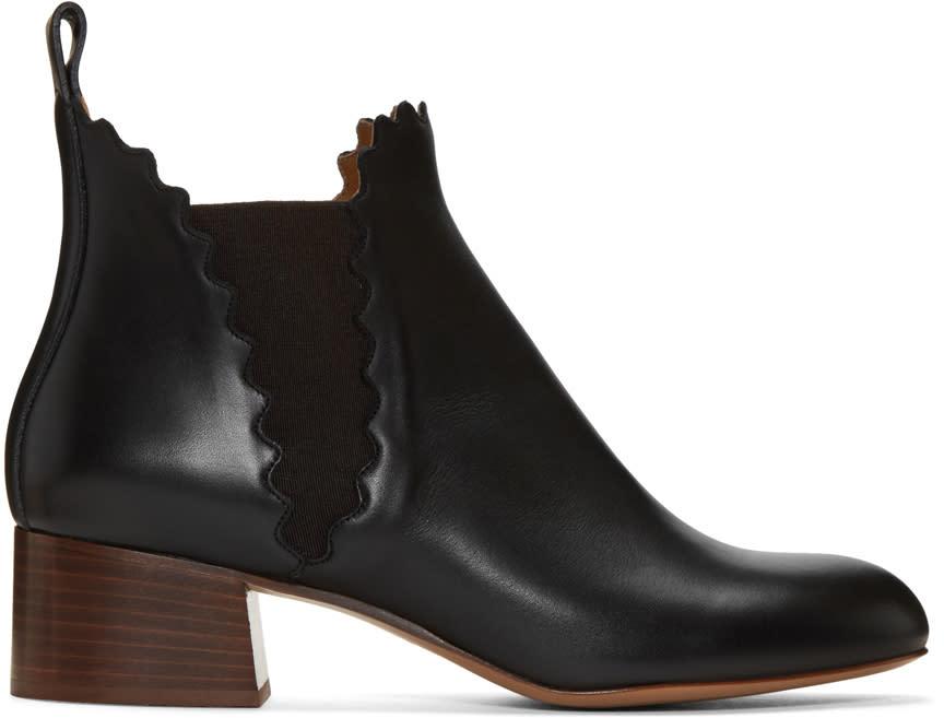 Chloe Black Lauren Boots