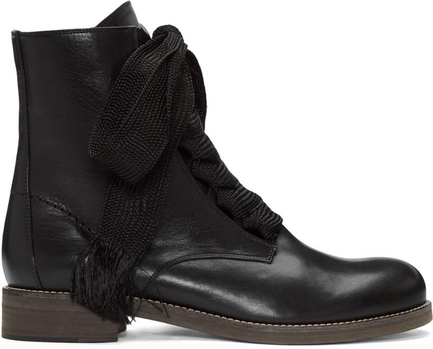 Chloe Black Harper Boots