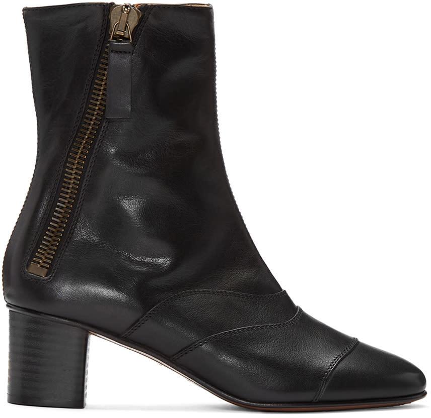 Chloe Black Lexie Boots