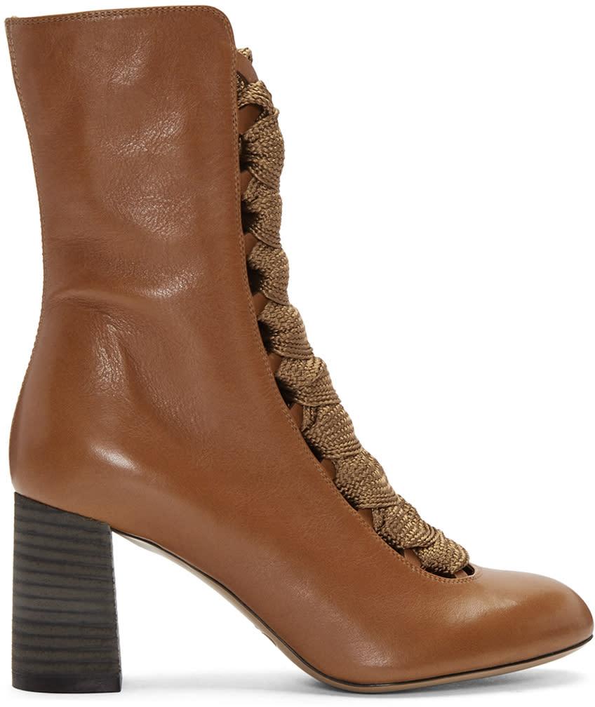 Chloe Tan Harper Boots