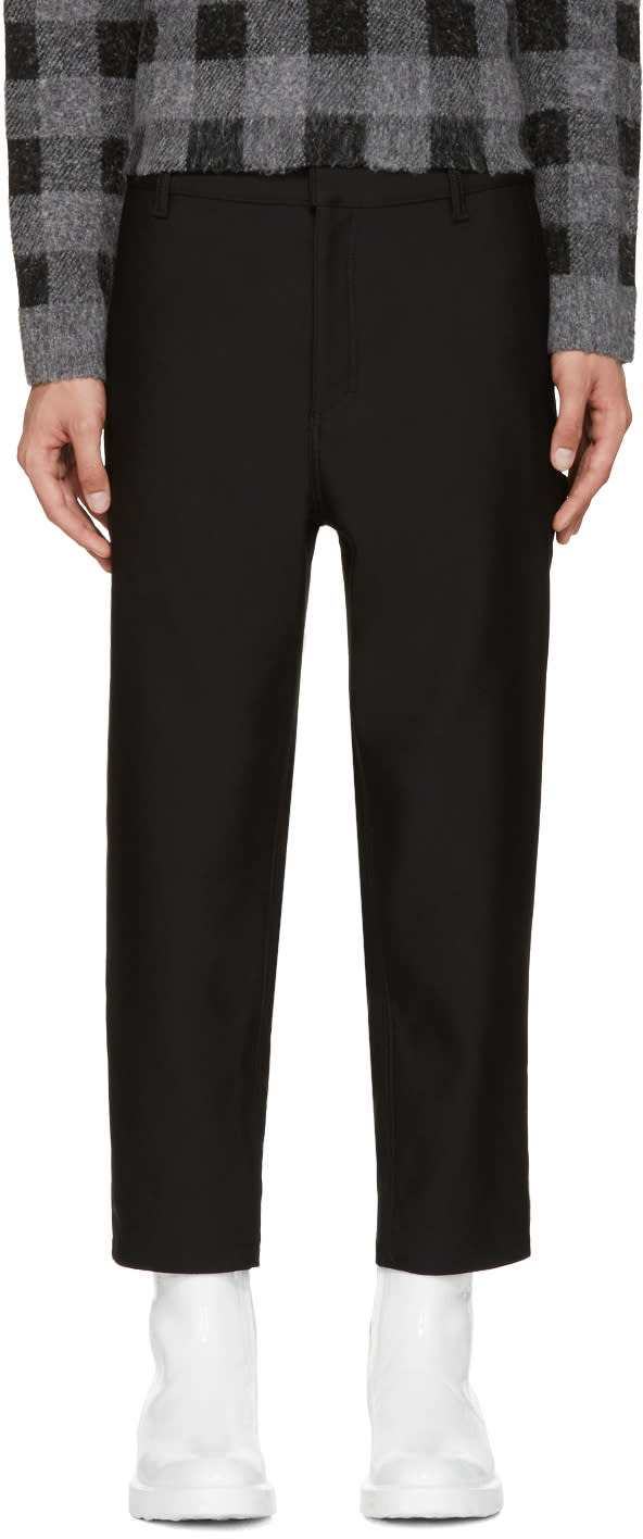 Balenciaga Black Military Trousers