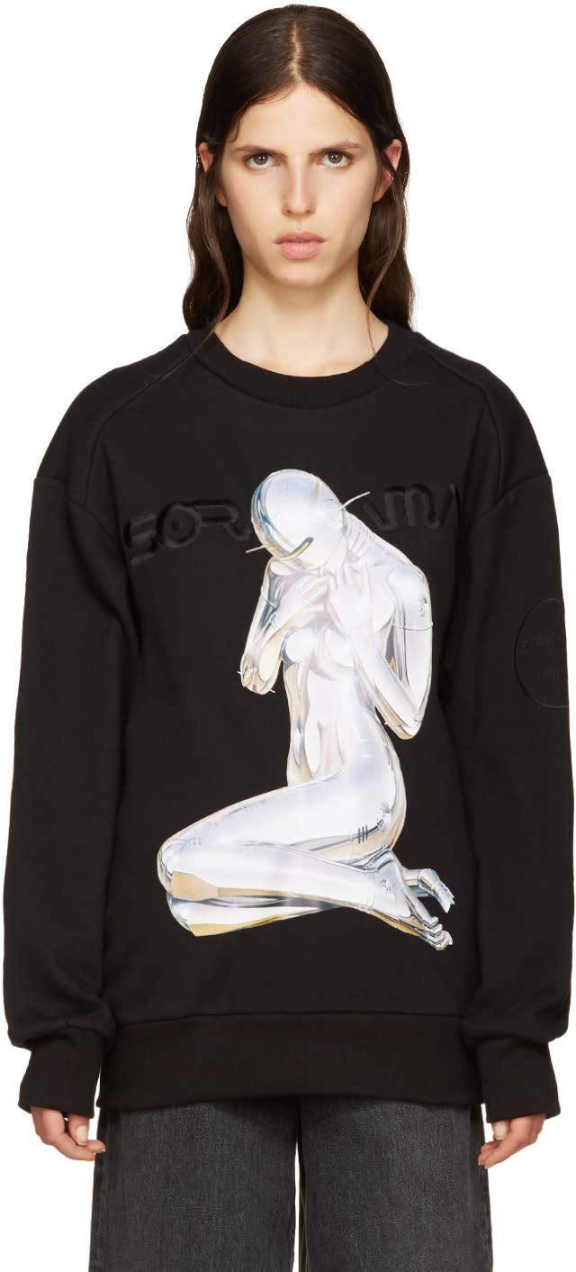 Juun.j Black Sorayama Sweatshirt