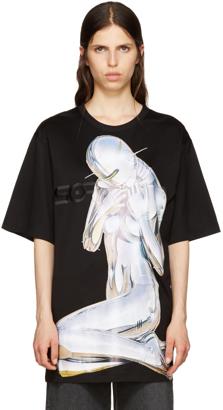 Juun.j Black Sorayama T-shirt