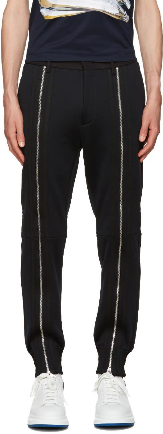 Juun.j Black Zippered Trousers
