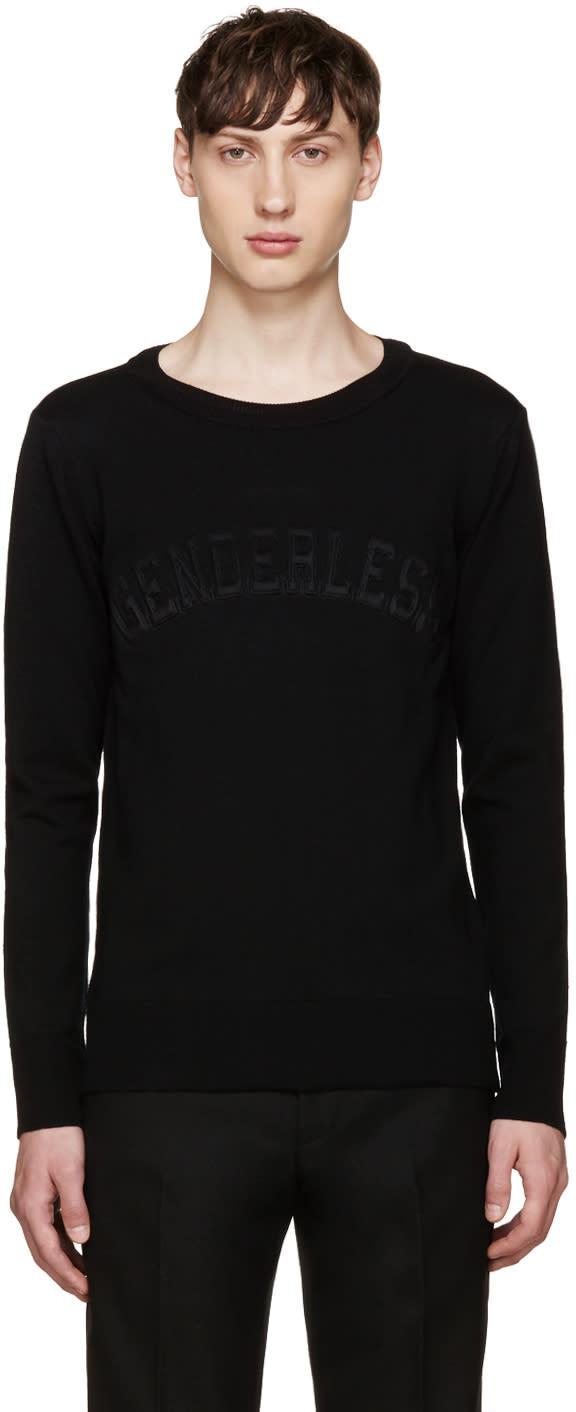Juun.j Black Genderless Sweater
