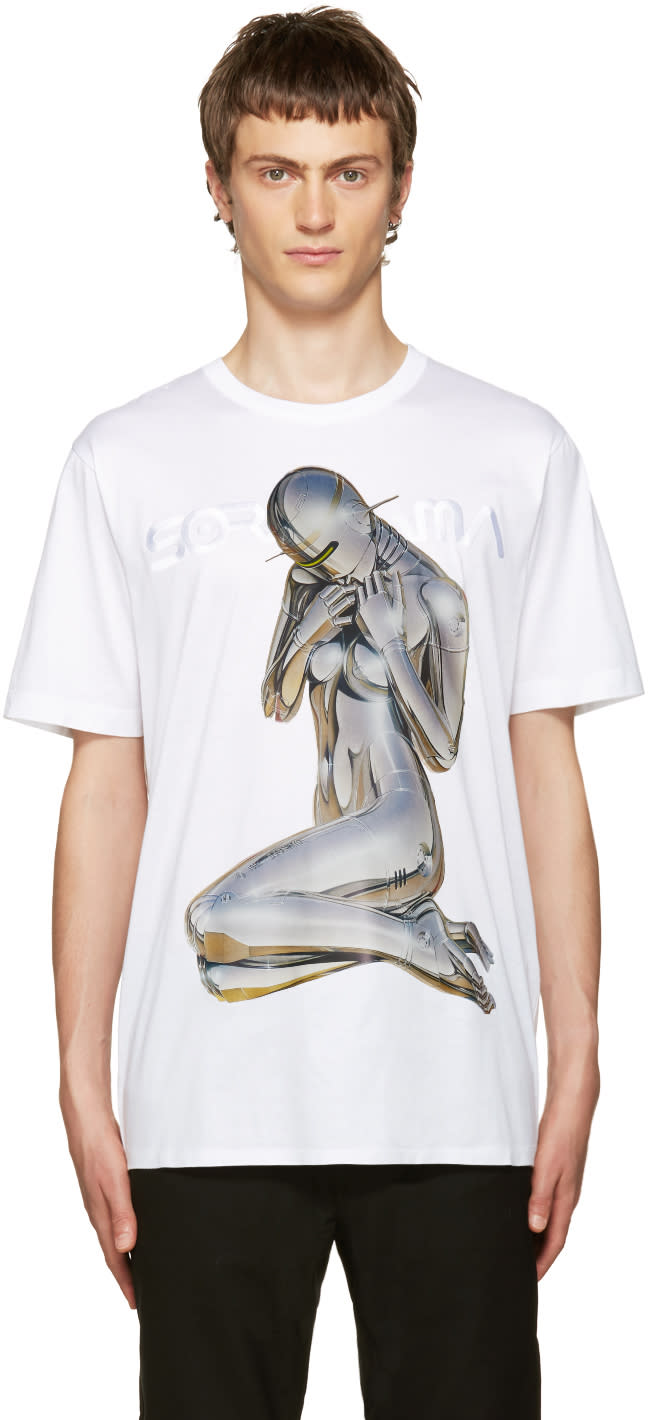 Juun.j White Sorayama T-shirt
