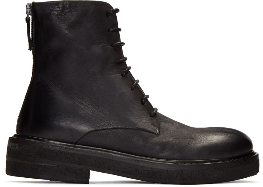 Marsell Black Parruca Boots