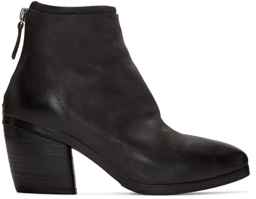 Marsell Black Torsolino Boots