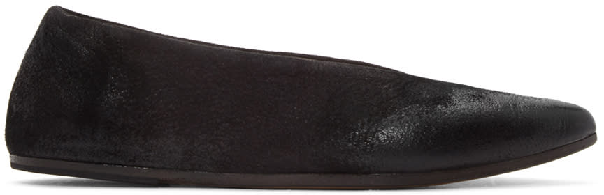 Marsell Black Questa Lucio Vanotti Edition Ballerina Flats