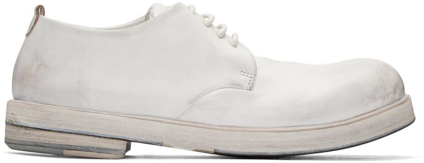 Marsell White Zucca Zeppa Derbys