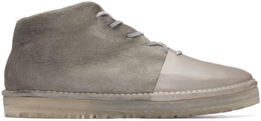 Marsell Grey Sancrispa Alta Boots