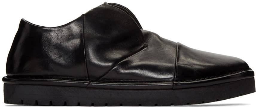 Marsell Black Gomma Sancrispa Alta Slip-on Loafers