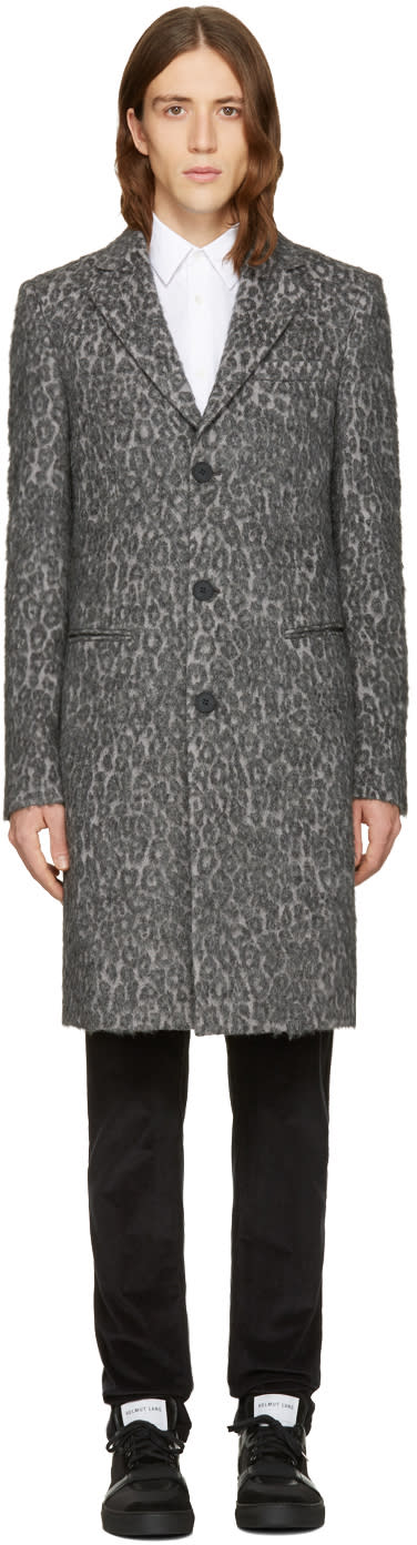 Blk Dnm Grey Leopard 15 Coat