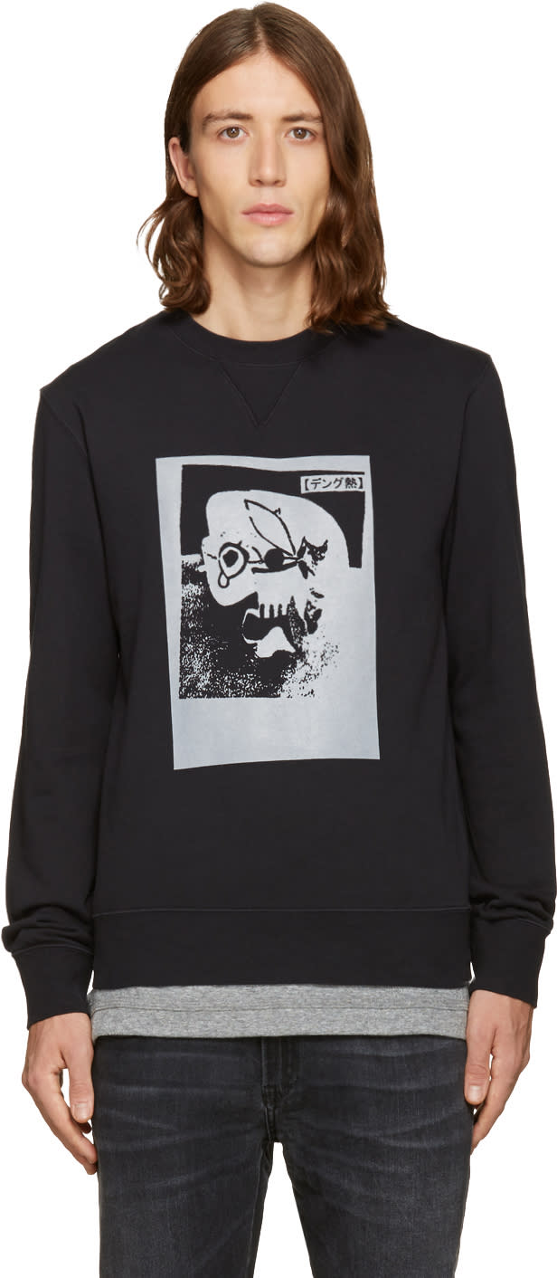 Blk Dnm Black B. Thom Stevenson Edition 45 Pullover