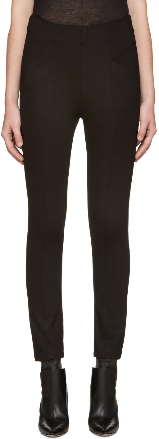 Image of Pierre Balmain Black Classic Trousers
