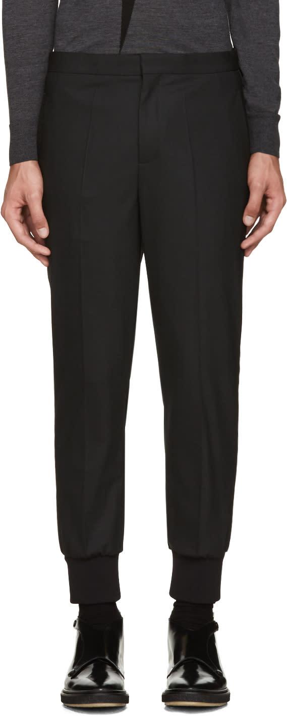 Neil Barrett Black Tuxedo Trousers