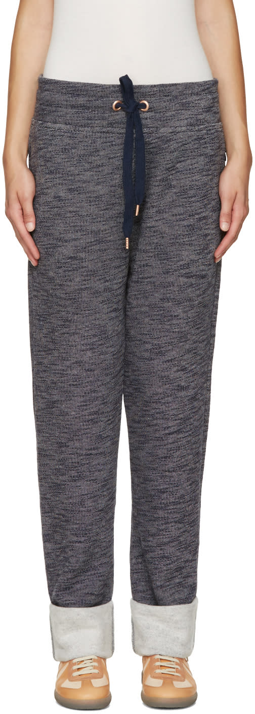 See By Chloe Blue Drawstring Lounge Pants