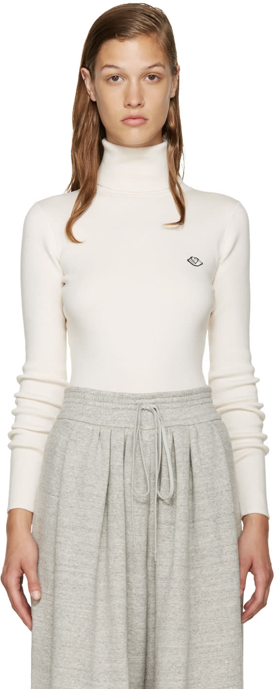 See By Chloe Off-white Cloud Turtleneck
