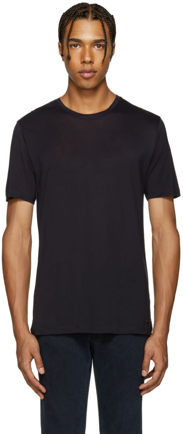 Burberry Navy Smithurst T-shirt
