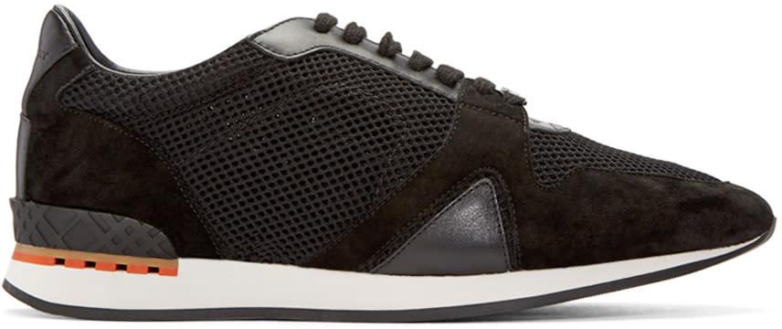 Burberry Black Mesh Field Sneakers