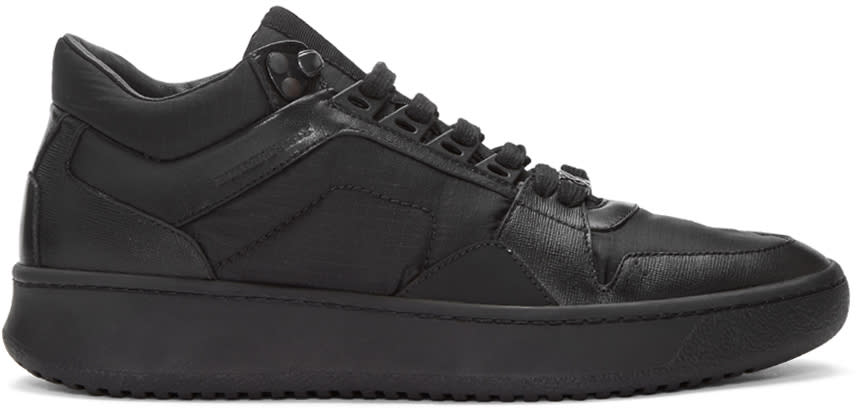 Burberry Black Trail Sneakers