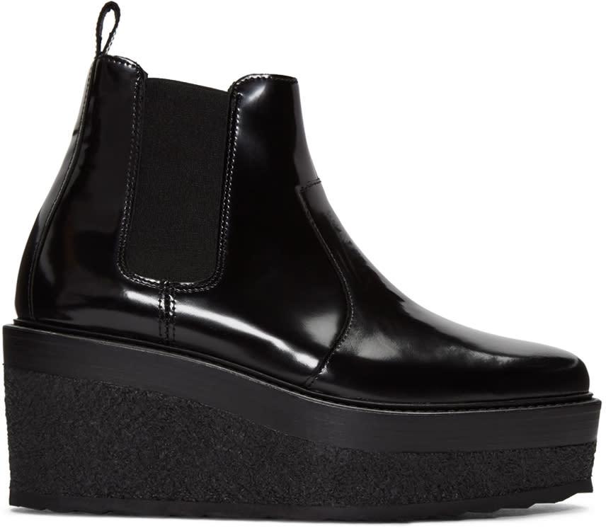 Pierre Hardy Black Jodhpur Ankle Boots