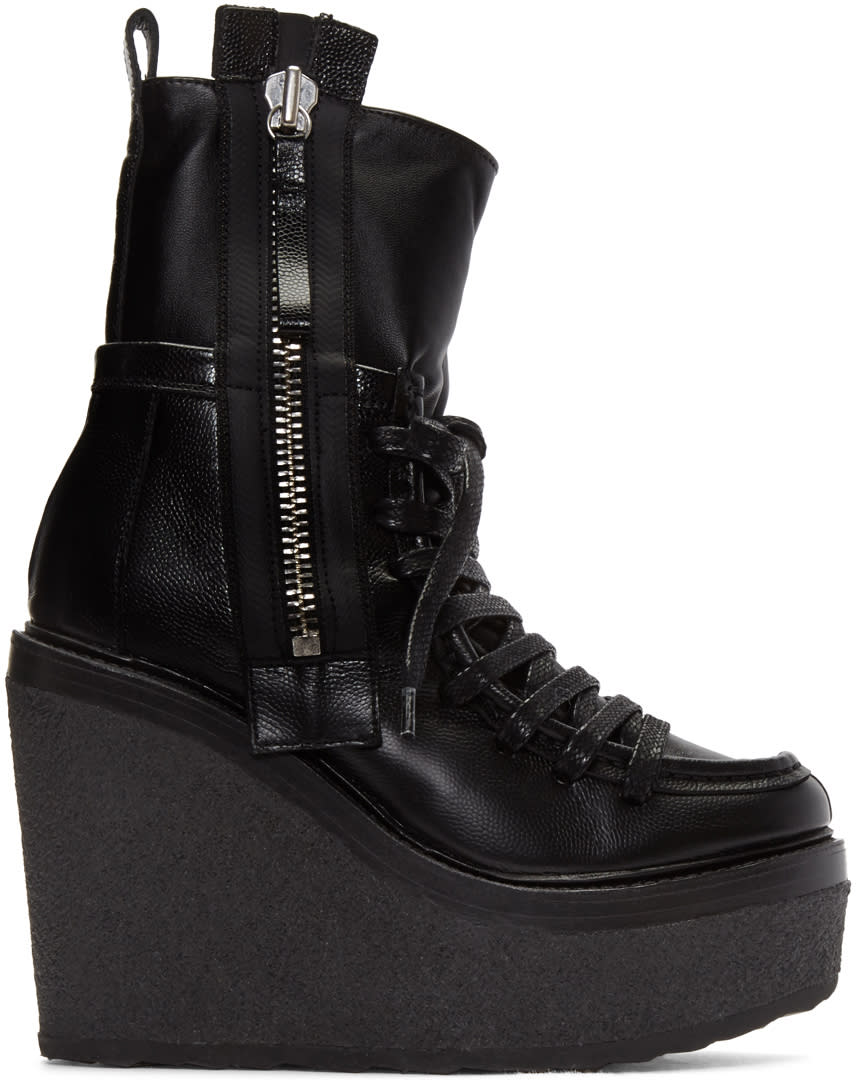 Pierre Hardy Black Manga Ankle Boots