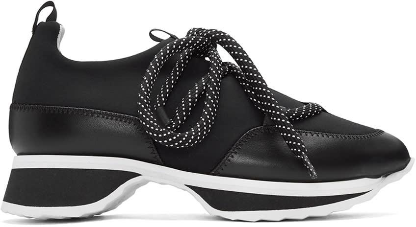 Pierre Hardy Black Urban Track Sneakers
