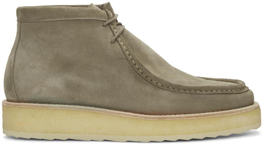 Pierre Hardy Beige Brit Pop Desert Boots